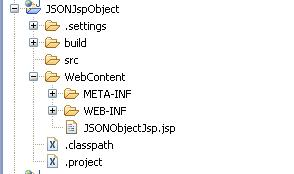 JSON Object With JSP | JSON with JSP Example